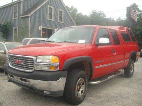 2001 GMC Sierra 2500HD for sale in Goffstown, NH