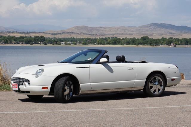 2002 Ford Thunderbird Deluxe 2dr Convertible - Loveland CO