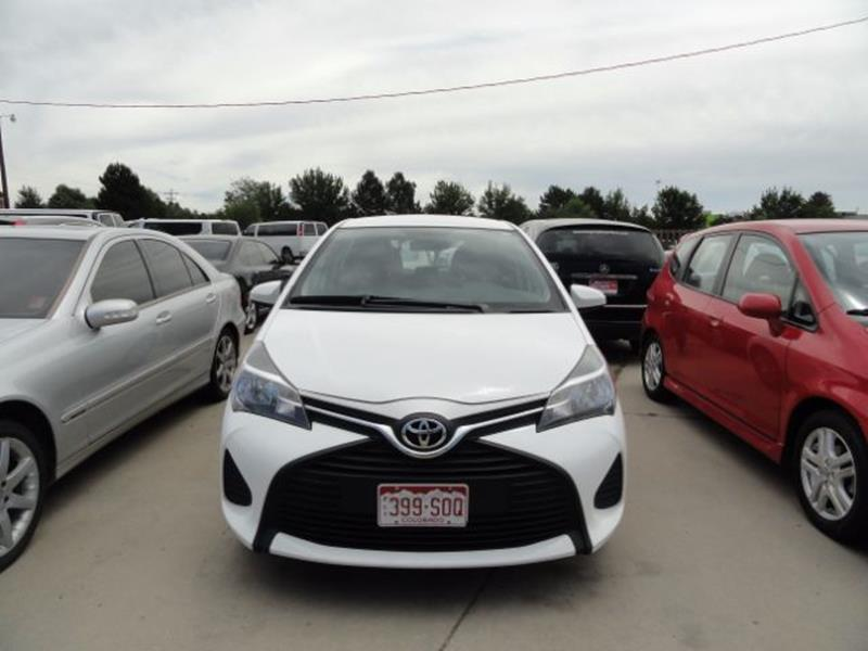 2015 Toyota Yaris L - Loveland CO