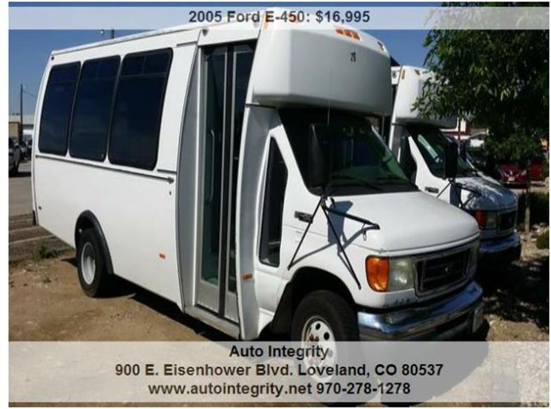2005 Ford E-450 CUTAWAY CHASSIS - Loveland CO