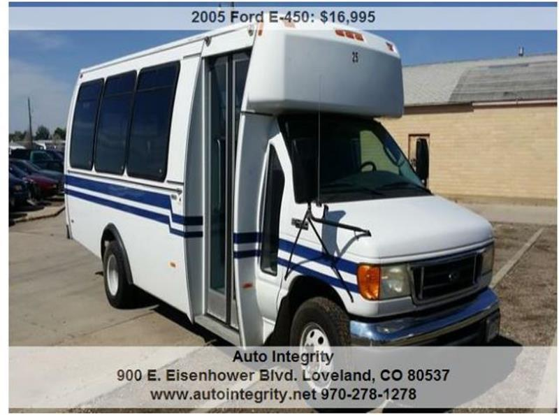 2005 Ford E-Series Cargo CUTAWAY CHASSIS - Loveland CO