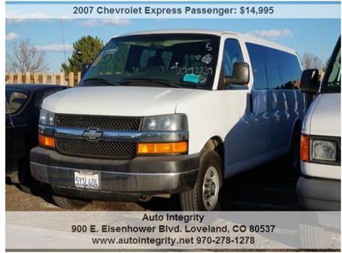 2007 Chevrolet Express Passenger for sale in Loveland, CO