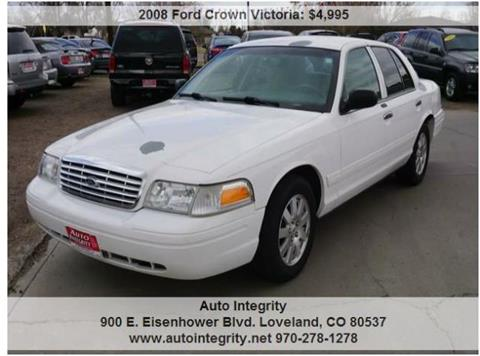 2008 Ford Crown Victoria for sale in Loveland, CO
