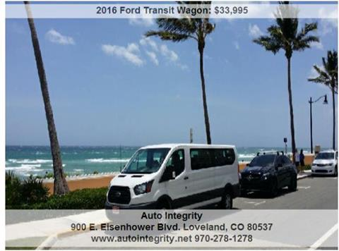 2016 Ford Transit Wagon for sale in Loveland, CO