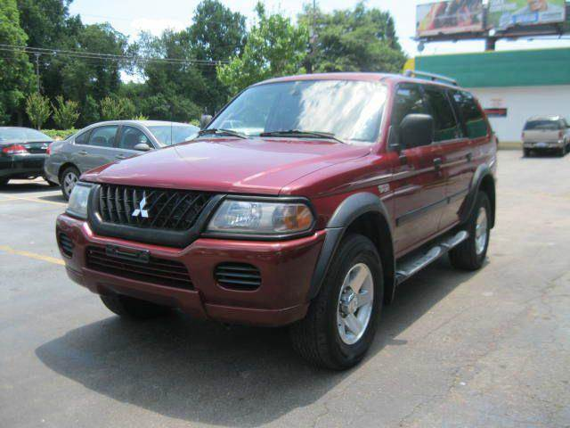 Used 2002 Mitsubishi Montero Sport Se In Raleigh Nc At