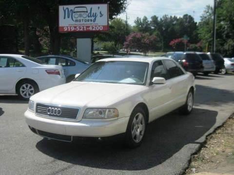 2001 Audi A8 L