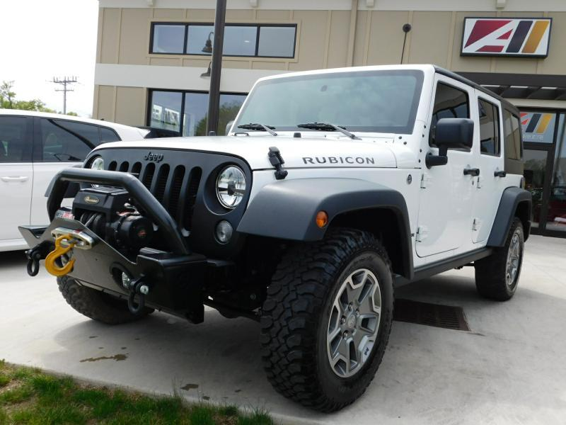 2015 Jeep Wrangler Unlimited RUBICON - Powell OH