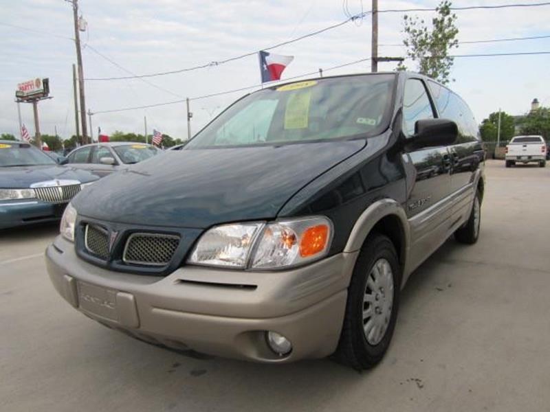 1998 Pontiac Trans Sport 4dr Montana Extended Mini-Van - Houston TX