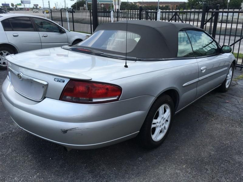 2003 Chrysler Sebring GTC 2dr Convertible - Houston TX