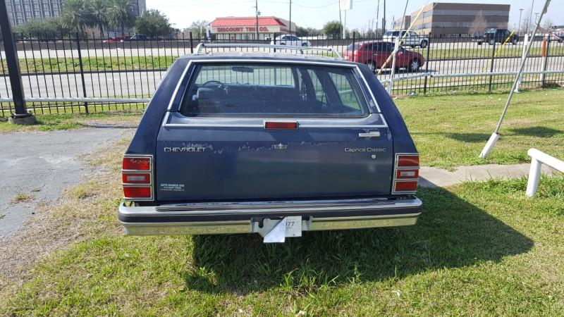1989 Chevrolet Caprice Classic 4dr Wagon - Houston TX