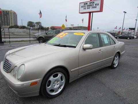 2001 Mercedes-Benz E-Class for sale in Houston, TX