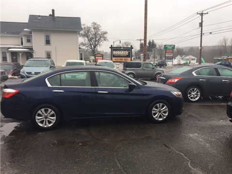 2013 Honda Accord for sale in Southwick, MA