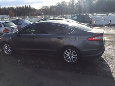 2014 Ford Fusion for sale in Southwick, MA
