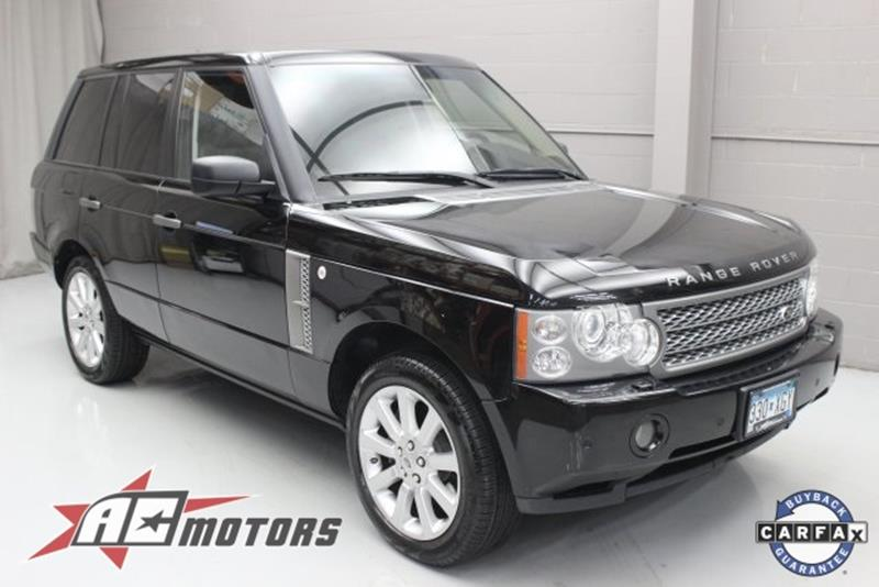 land rover range rover for sale in minnesota. Black Bedroom Furniture Sets. Home Design Ideas