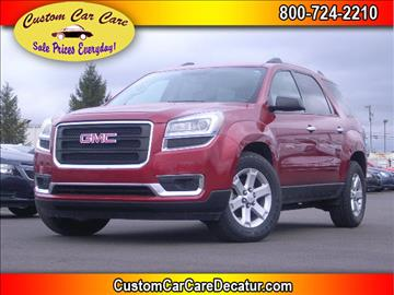 2014 GMC Acadia for sale in Decatur, IN
