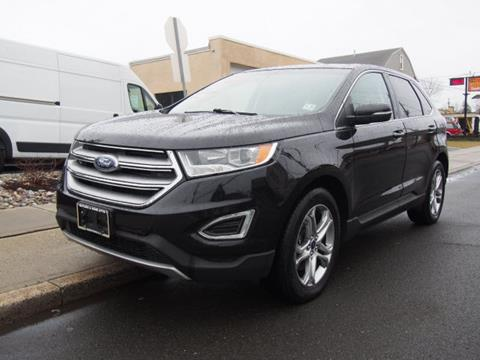 used 2015 ford edge for sale in new jersey. Black Bedroom Furniture Sets. Home Design Ideas