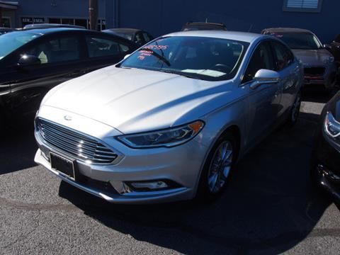 2017 Ford Fusion for sale in Garwood, NJ