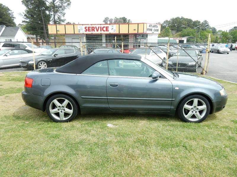 2003 Audi A4 1.8T 2dr Turbo Convertible - Jonesboro GA