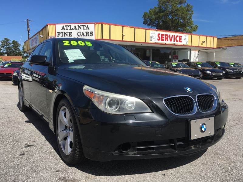 2005 BMW 5 Series 525i 4dr Sedan - Jonesboro GA