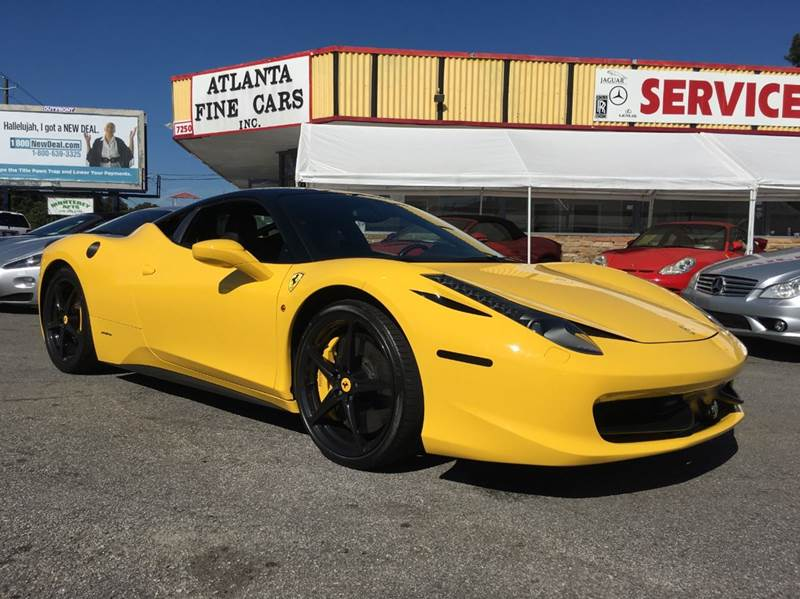 2010 ferrari 458 italia for sale in jonesboro ga. Cars Review. Best American Auto & Cars Review