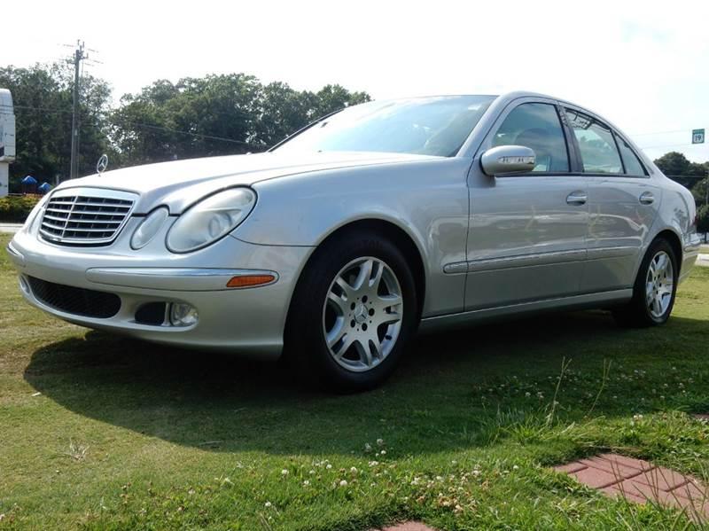 2004 Mercedes-Benz E-Class