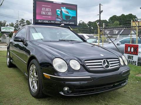 2002 Mercedes-Benz CL-Class for sale in Jonesboro, GA