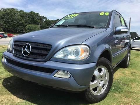 Suvs for sale jonesboro ga for Mercedes benz suv 2004