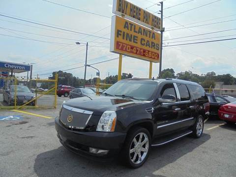 2010 Cadillac Escalade ESV for sale in Jonesboro, GA