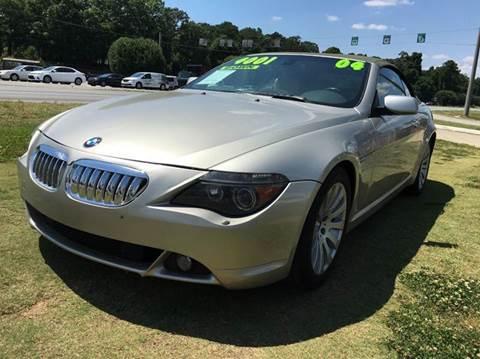 2004 BMW 6 Series for sale in Jonesboro, GA