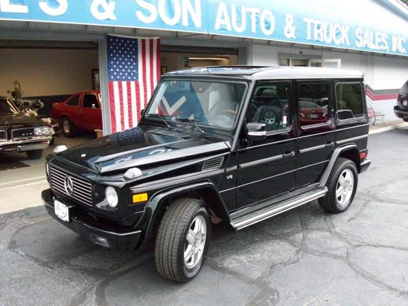 2004 mercedes benz g class g500 awd 4matic 4dr suv in for Mercedes benz suv 2004