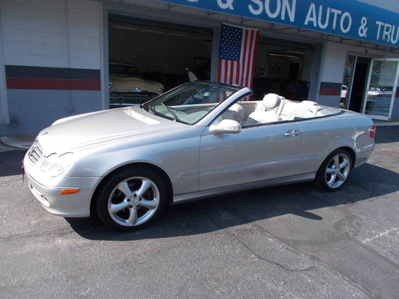 2005 mercedes benz clk class clk320 2dr cabriolet in for Mercedes benz of akron hours