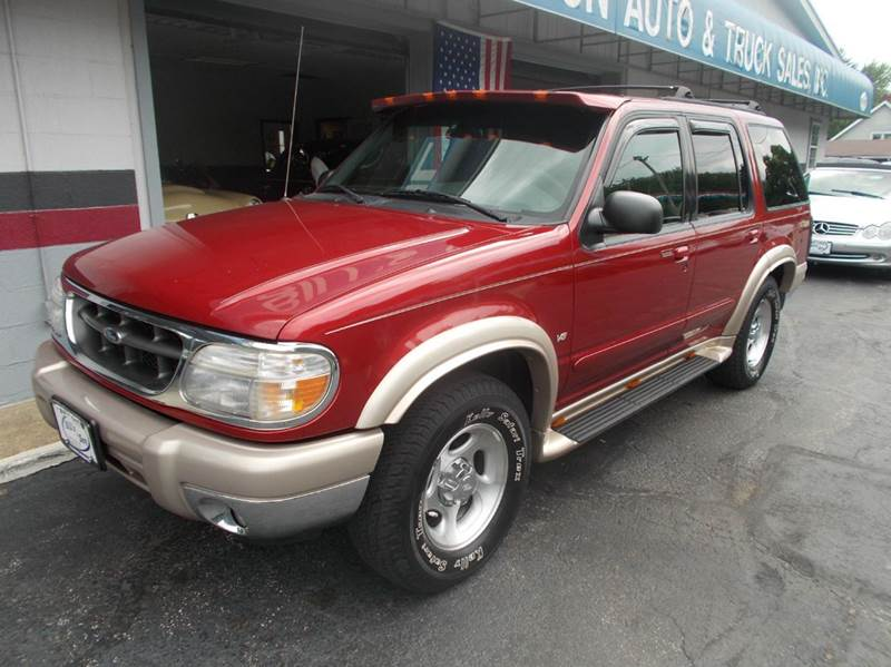 2000 ford explorer awd eddie bauer 4dr suv in ravenna oh bill 39 s s. Cars Review. Best American Auto & Cars Review
