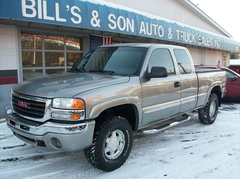 2003 gmc sierra 1500 4dr extended cab sle 4wd sb in ravenna oh bill 39 s son auto sales inc. Black Bedroom Furniture Sets. Home Design Ideas