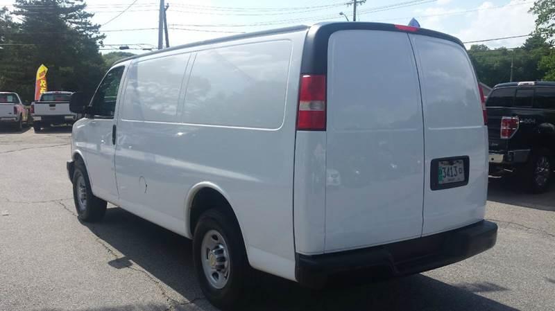 2012 Chevrolet Express Cargo 2500 3dr Cargo Van w/ 1WT - Rehoboth MA