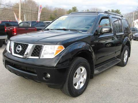 2007 Nissan Pathfinder for sale in Rehoboth, MA