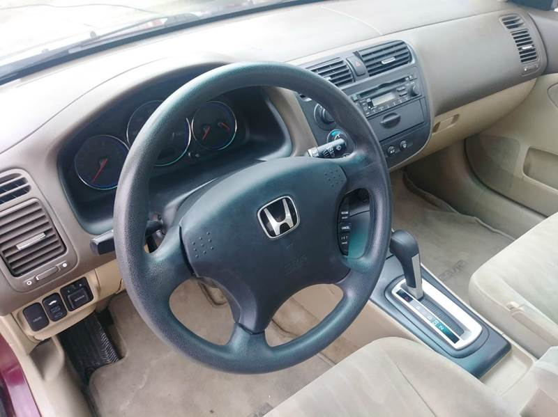2003 Honda Civic EX 4dr Sedan - Parma OH