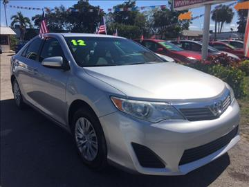 2012 Toyota Camry for sale in North Lauderdale, FL
