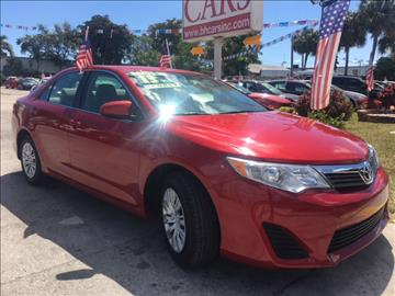 2013 Toyota Camry for sale in North Lauderdale, FL