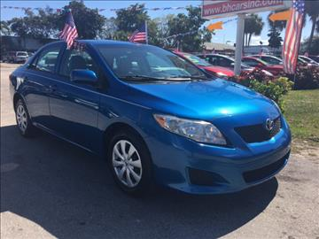 2010 Toyota Corolla for sale in North Lauderdale, FL