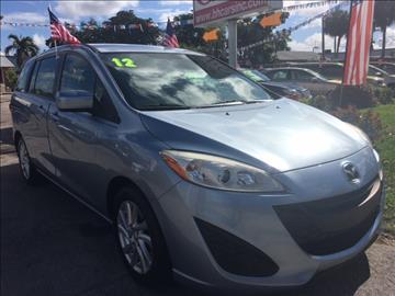 2012 Mazda MAZDA5 for sale in North Lauderdale, FL