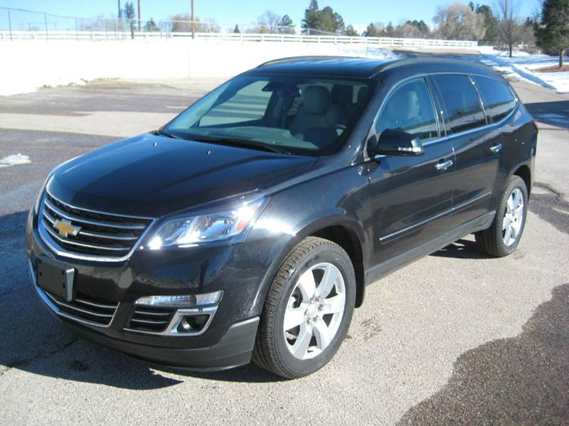 2015 Chevrolet Traverse Ltz Awd 4dr Suv In Kiowa Co Hoo