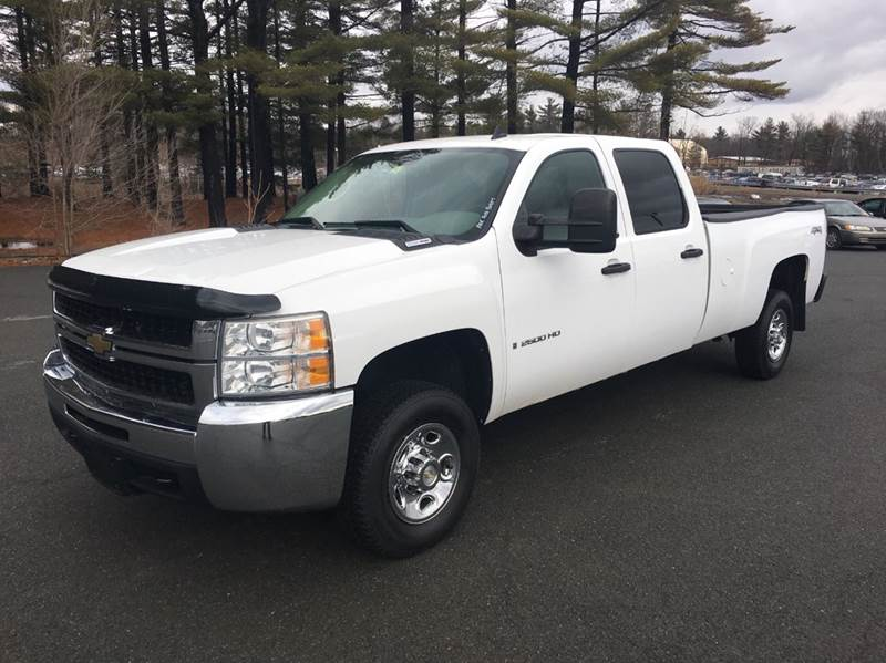 2009 chevrolet silverado 2500hd work truck 4x4 4dr crew cab lb in schuylerville ny american muscle. Black Bedroom Furniture Sets. Home Design Ideas