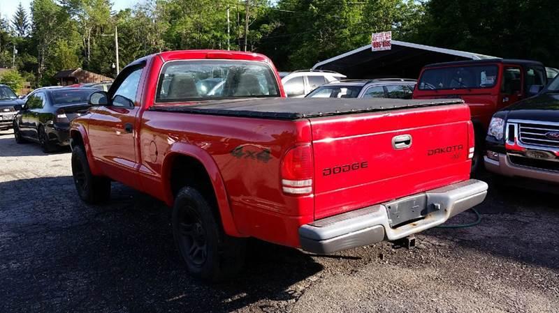2003 Dodge Dakota 2dr Standard Cab SXT 4WD SB - Pawling NY