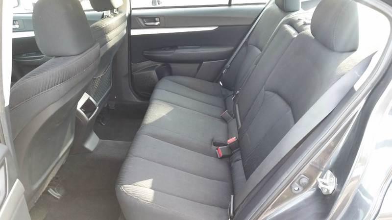 2011 Subaru Legacy AWD 2.5i Premium 4dr Sedan CVT - Pawling NY