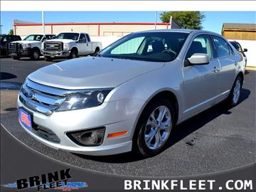 2012 Ford Fusion for sale in Lubbock, TX