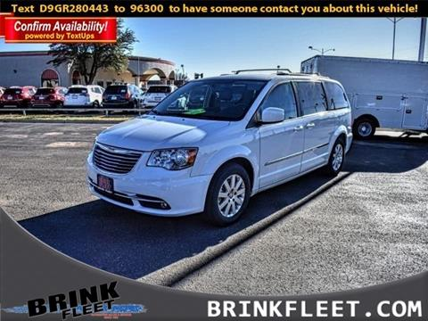 2016 Chrysler Town and Country for sale in Lubbock, TX