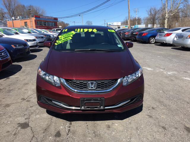 2014 Honda Civic LX 4dr Sedan CVT - Phillipsburg NJ