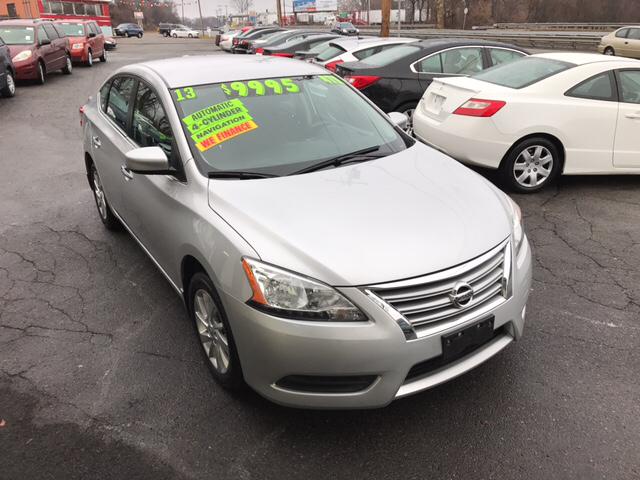 2013 Nissan Sentra FE+ SV 4dr Sedan - Phillipsburg NJ