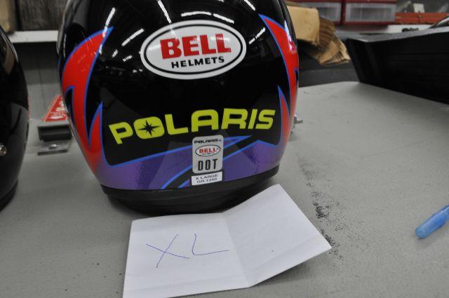 2015 POLARIS BELL HELMETS