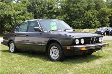 1985 BMW 5 Series